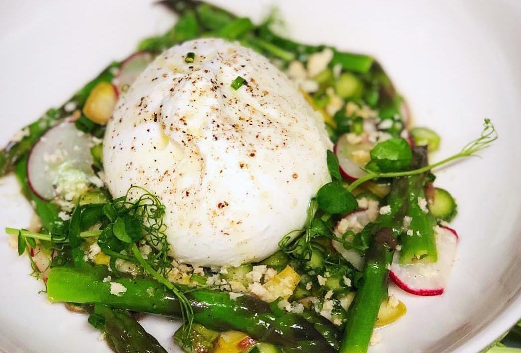 asparagus-burrata