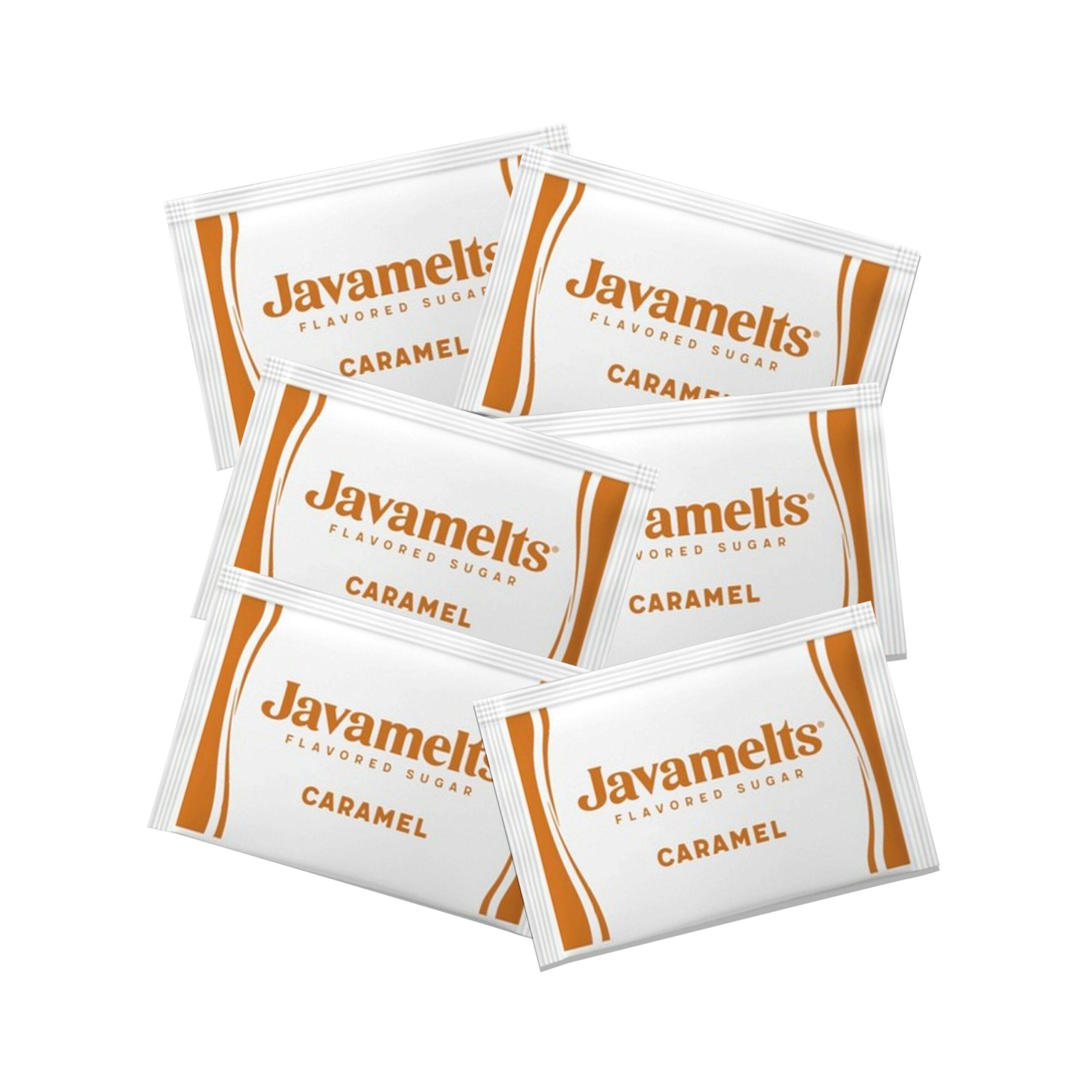Javamelts Caramel Flavored Sugar Packets LIFCMarketplace